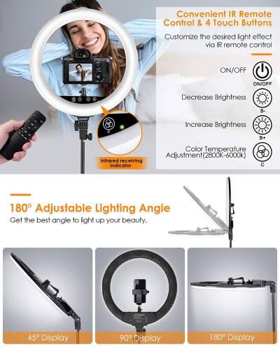 tripode luz movil